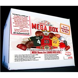 MEGA Box - Sportscards.com Autographed Mystery Box 8 to 12 Items Per Box!
