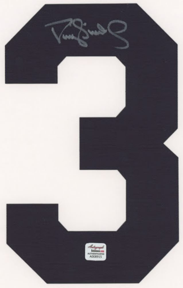 los angeles f9325 f3ac6 Darryl Strawberry Signed Yankees Jersey Number #3 ...