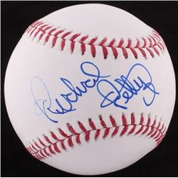 Richard Petty Signed OML Baseball (Beckett COA)