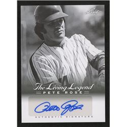2012 Leaf Pete Rose The Living Legend Autographs #AU29 Pete Rose