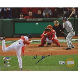 Hideki Okajima Signed Red Sox 8x10 Photo (MLB Hologram)