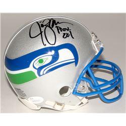Jim Zorn Signed Seahawks Mini Helmet (JSA COA)