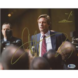 "Aaron Eckhart Signed ""The Dark Knight"" 8x10 Photo (Beckett COA)"