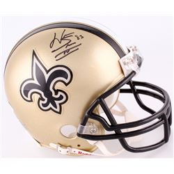 Willie Snead Signed Saints Mini-Helmet (JSA COA)