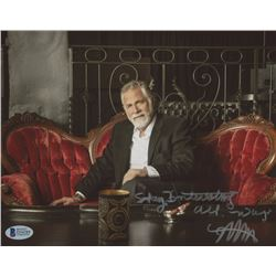 "Jonathan Goldsmith Signed 8x10 Photo Inscribed ""Stay Interesting All Ways"" (Beckett COA)"