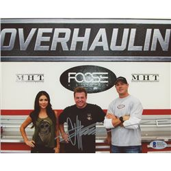 Chip Foose Signed 8x10 Photo (Beckett COA)