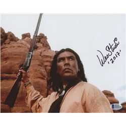 "Wes Studi Signed ""Geronimo: An American Legend"" 8x10 Photo Inscribed ""2017"" (Beckett COA)"