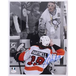 Scott Hartnell Signed Flyers 11x14 Photo (SI COA  JSA Hologram)