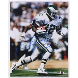 Ricky Watters Signed Eagles 11x14 Photo (SI COA)