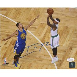 Isaiah Thomas Signed Celtics 8x10 Photo (JSA COA)