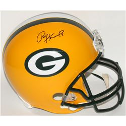 Paul Hornung Signed Packers Full-Size Helmet (JSA COA)