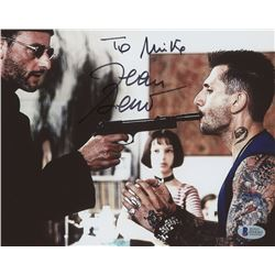 "Jean Reno Signed ""Leon: The Professional"" 8x10 Photo (Beckett COA)"