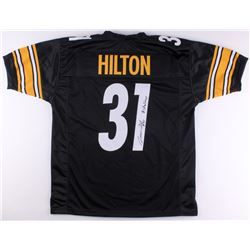 "Mike Hilton Signed Steelers Jersey Inscribed ""#shalieve"" (TSE Hologram)"