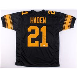 Joe Haden Signed Steelers Color Rush Jersey (TSE Hologram)