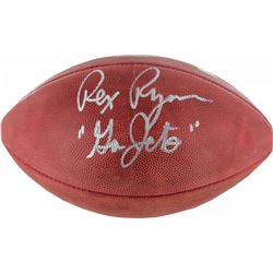 "Rex Ryan Signed NFL ""The Duke"" Football Inscribed ""Go Jets"" (Steiner COA)"