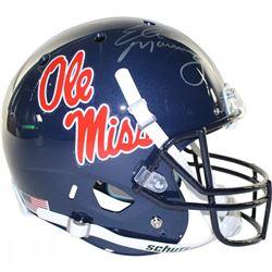 Eli Manning Signed Ole Miss Rebels Full Size Helmet (Steiner COA)