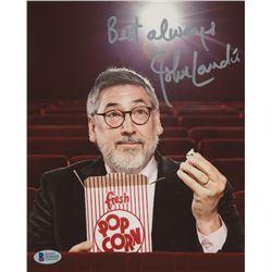 "John Landis Signed 8x10 Photo Inscribed ""Best Always"" (Beckett COA)"