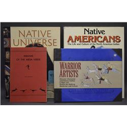 FOUR BOOKS ON NATIVE AMERICANS