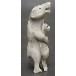 INUIT CARVED BEAR