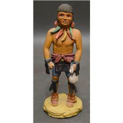 HOPI KACHINA (HONYAOMA)