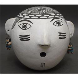 ACOMA POTTERY HEAD  (LENO)