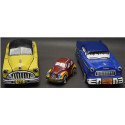 THREE CUBAN FOLK-ART CARS