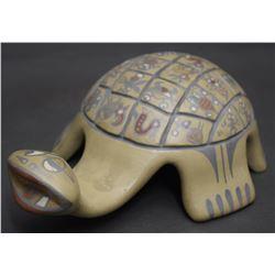 SANTA CLARA POTTERY TURTLE (  GUTIERREZ)