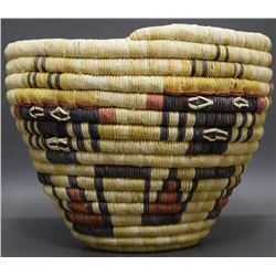 HOPI BASKETRY CYLINDER