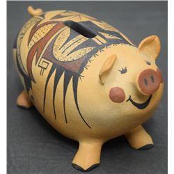 HOPI POTTERY PIG (TAHBO)