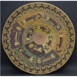 NAVAJO BASKET (BLACK)