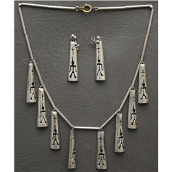 HOPI NECKLACE AND EARRINGS