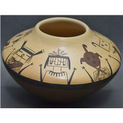 HOPI POTTERY JAR (MAHO)