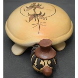 HOPI POTTERY TURTLE (SPENCER)