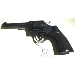 Colt 38 Special Official Police Revolver.