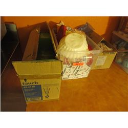 Coffee Lot- Condiments, stir sticks, filters etc.3 Boxes