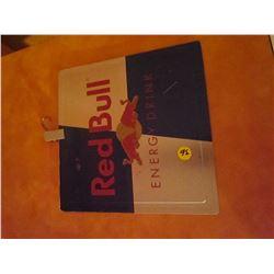 Redbull sign/tin