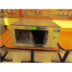 Panasonic Inverter stainless steel microwave