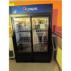 2 door Pepsi cooler