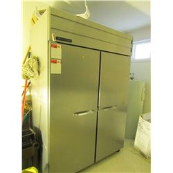 Stainless steel Polar Quest refrigerator/freezer 52 X 78