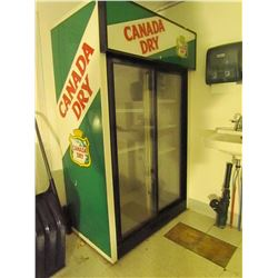Canada Dry double door cooler