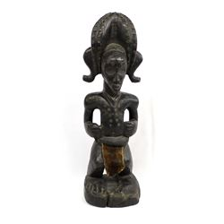 African Carved Wood Statue