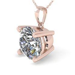1.50 CTW VS/SI Diamond Designer Necklace 14K Rose Gold - REF-513X3T - 38421