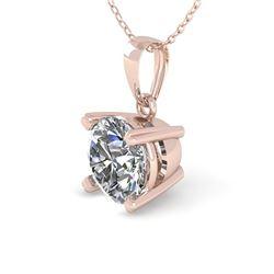 0.50 CTW VS/SI Diamond Designer Necklace 14K Rose Gold - REF-82A8X - 38403