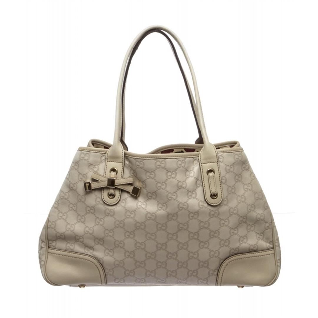 10f20f82e Image 1 : Gucci Ivory Guccissima Leather Princy Tote Bag ...