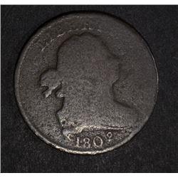 1802/0 HALF CENT - GOOD