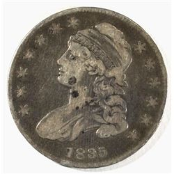 1835 BUST HALF DOLLAR, FINE