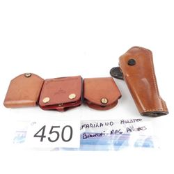 Safariland Holster + 3 Biamchi single stack Mag pouches