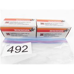 950 rounds Winchester Super X 22 LR high velocity
