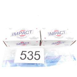 2 Boxes Impact 38 +P Ammo