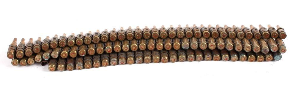 92 Rds  7 62x51mm/ 308 Win  Blank Ammo Belt